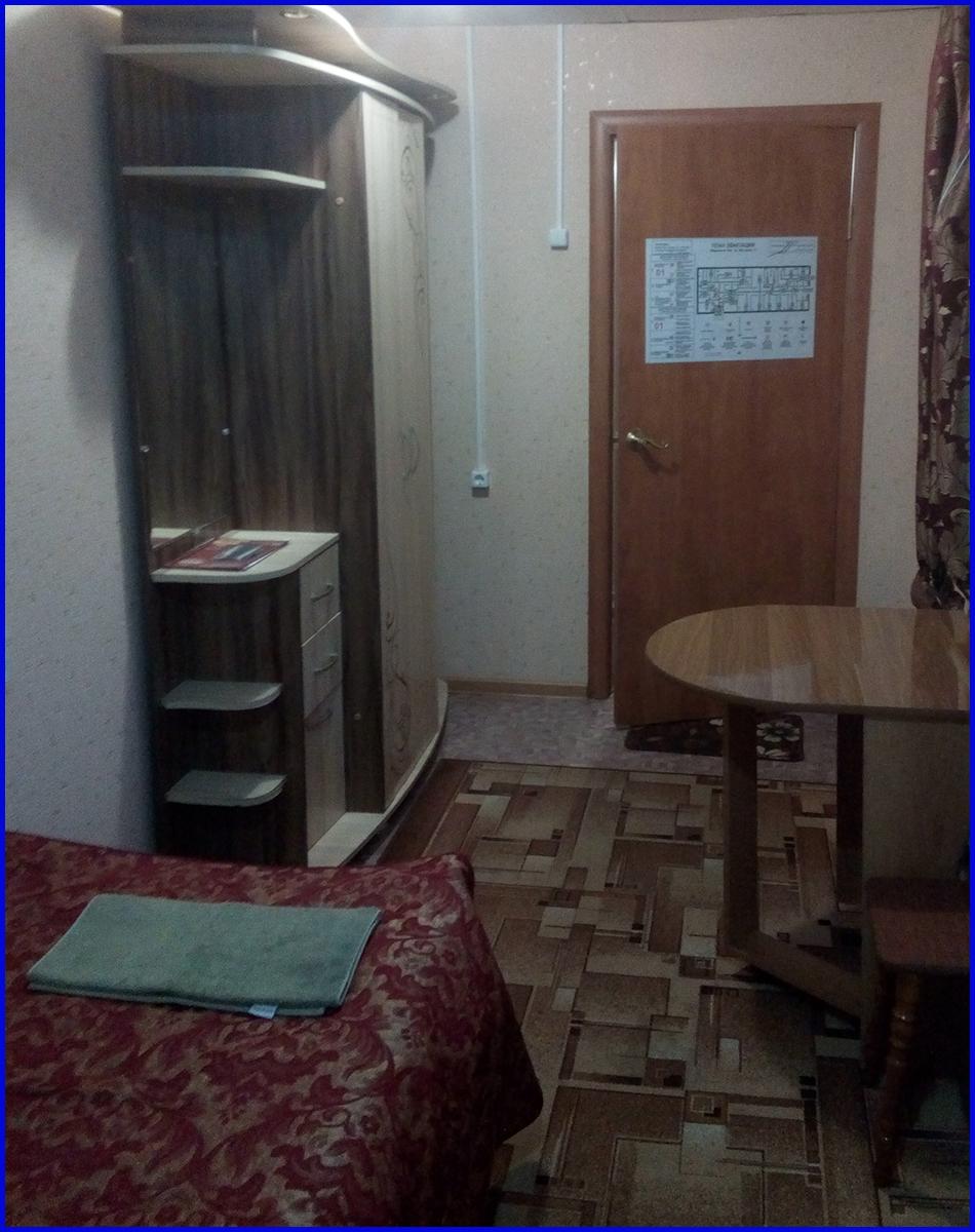 Гостиница в Когалыме Северная звезда Двухместный стандартный номер 3